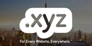 domain marketing-dotXYZ