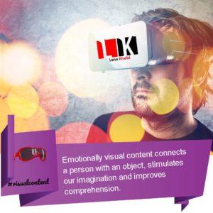 Visual content using eezygram